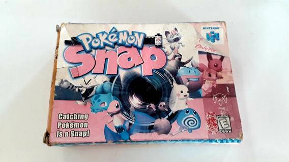 Jogo N64 Pokémon Snap C/ Caixa, Berço E Manual