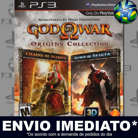 God Of War Origins Collection Ps3 Psn Jogo Promoção Play 3