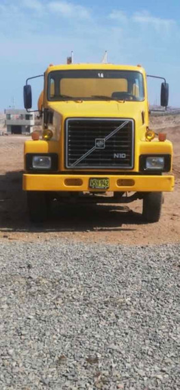Camión Volvo N10 Doble Corona Cubo Chico Caja Sr 62