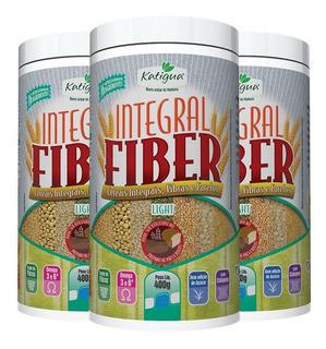 Integral Fiber Light (fibras) - 3x 400 Gramas - Katigua