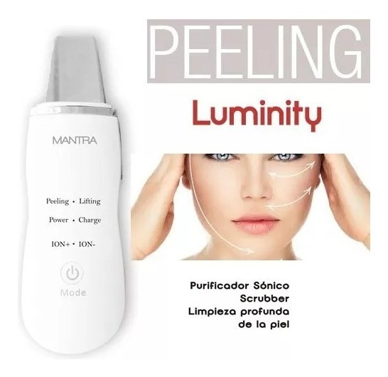 Mantra Luminity Scrubber Ultrasonido Ion+/- Peeling Lifting