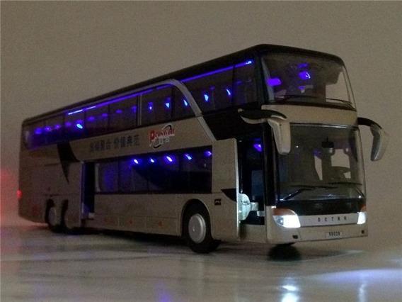 Ônibus Setrr Double Deck Metal Rodoviário