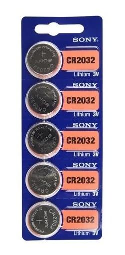 Pilha 2032 Bateria Para Relogios Sony 2032 Com 10