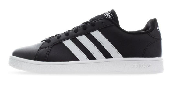 Tenis adidas Grand Court Base - Ee7900 - Negro - Hombre
