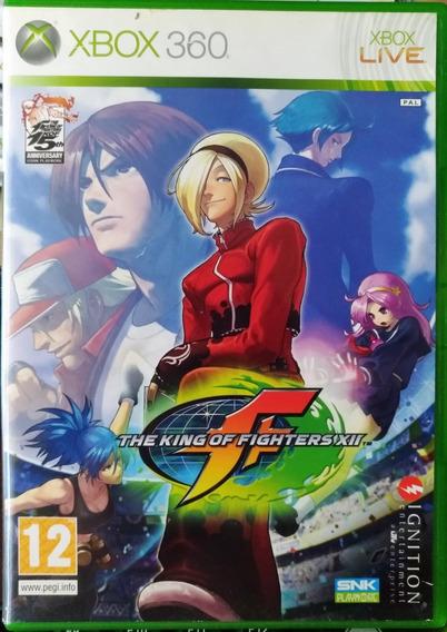 The King Of Fighters Xii Xbox 360 Jogo Original Mídia Física