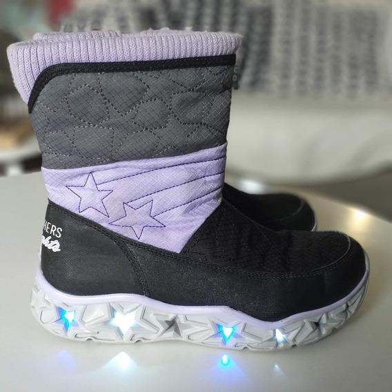 Botas Para Niña Skechers Con Luces