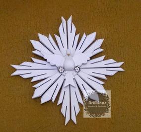 Divino Espírito Santo Madeira 60cm Decoração Promoção