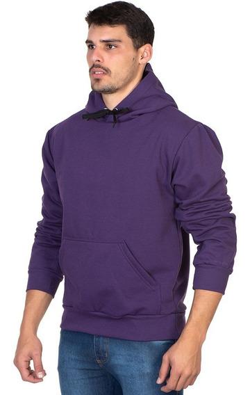 Blusa Moletom Adulto Masculino Feminino Liso Cor Violeta Novidade Casaco De Frio Blusão Liso Cores Novas