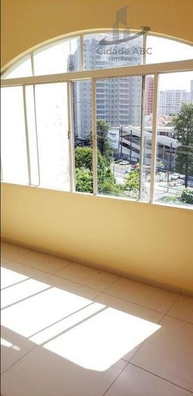Apartamento Com 2 Dormitórios À Venda, 85 M² Por R$ 350.000 - Centro - Santo André/sp - Ap1157