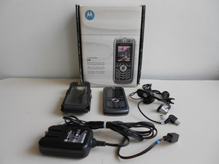 Celular Motorola L6i Con Estuche, Cargador, Manual Etc