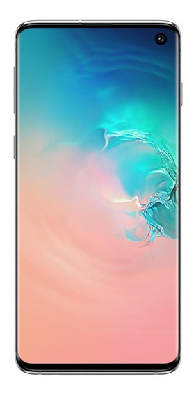Samsung Galaxy S10 Dual SIM 128 GB Blanco prisma 8 GB RAM