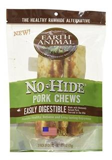 Tierra Animal Ocultar No Cerdo Chews 7-inch Dog Treats 2-pa