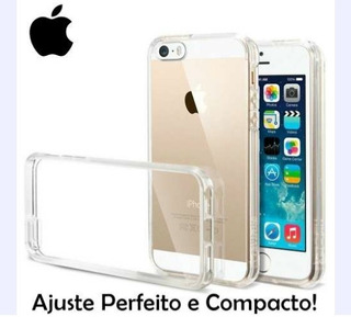 Capa Case Transparente iPhone 5s/5c/se/6s/7/8/plus E X