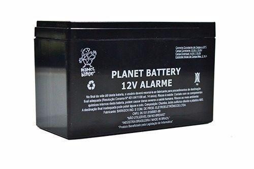 Bateria 12v 7a Nobreak Planet Battery