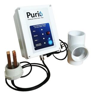 Sistema Purificador De Agua Ionización De Cobre Y Plata