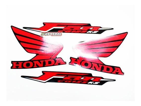 Kit Adesivo Jogo Faixas Moto Honda Fan 125 2011 Es Preta