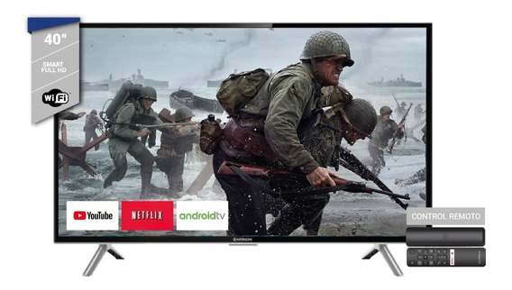 Smart Tv 40 Hitachi Cdh Le40 Smart17 Full Hd Android Nuevo