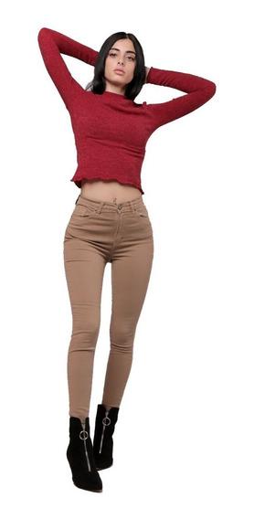 Pantalon Jean Chupin Tania Color | Vov Jeans (9255)