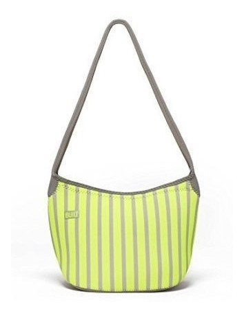 Bolsa Neoprene Hobo Shoulder Lunch Built Ny - Estampada