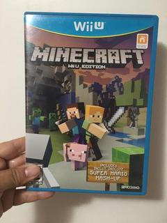Juego Wii U Minecraft Edicion Wii U Oferta