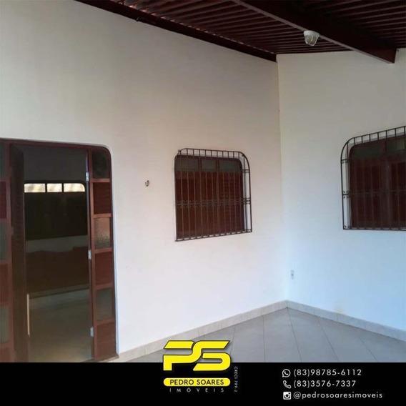 Casa Com 3 Dormitórios À Venda, 420 M² Por R$ 600.000 - Poço - Cabedelo/pb - Ca0613