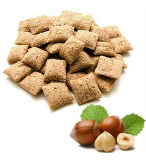 Almohaditas De Cereal Rellenas De Avellana X 500g Lasfor