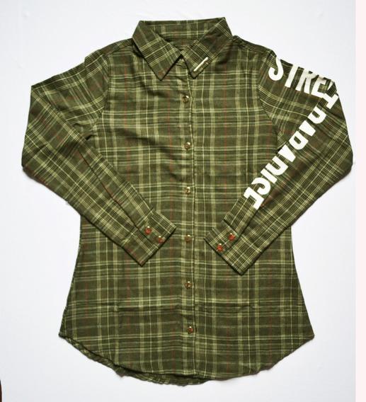 Camisa Xadrez Infantil Juvenil Feminina 12 18 20 Anos