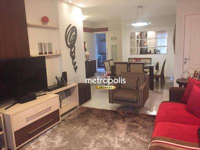 Apartamento Com 3 Dormitórios À Venda, 150 M² Por R$ 1.300.000 - Barcelona - São Caetano Do Sul/sp - Ap2232
