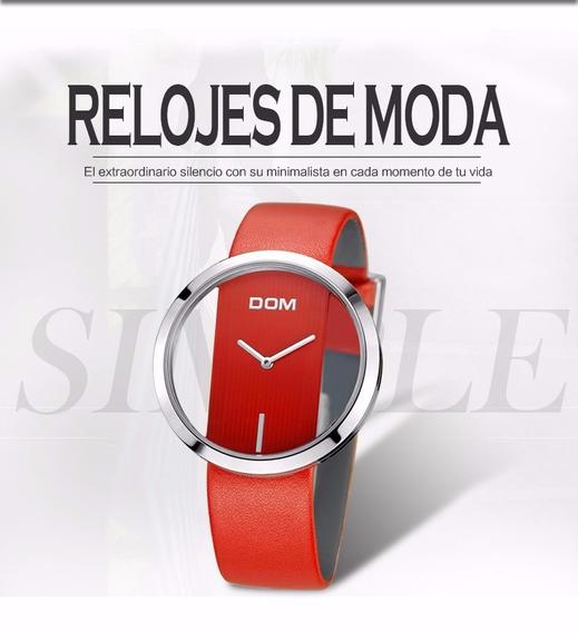 Liquidacion Reloj Dama De Lujo Marca Dom !