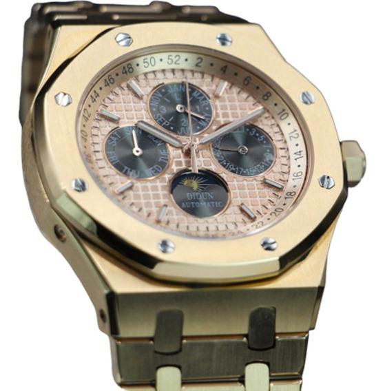 Reloj Rose Gold 10k Fase Lunar | San Valentin $ 12,500 -30%