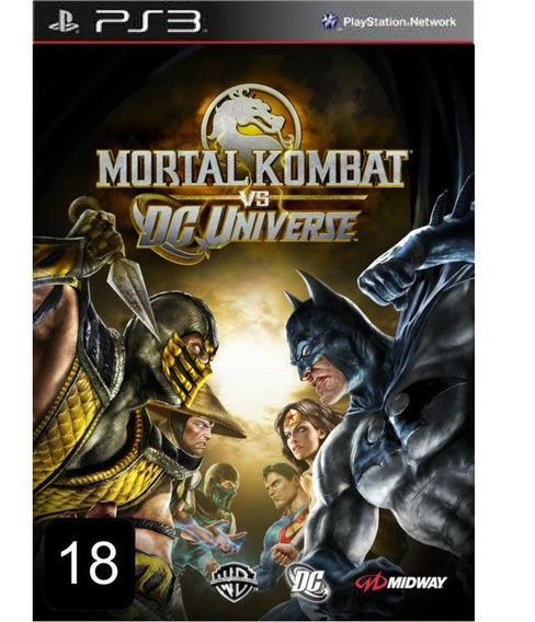Mortal Vs Dc Universe Ps3 Psn Promoção