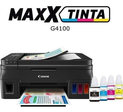 Multifuncional Canon Tanque De Tinta Color Maxx G4100
