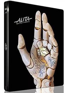 Steelbook Alita Anjo De Combate Blu-ray Dub Leg Lacrado