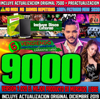 Ecuakaraoke 2020 Videos Hd 9000,garantia 1 Año, No Pague$130