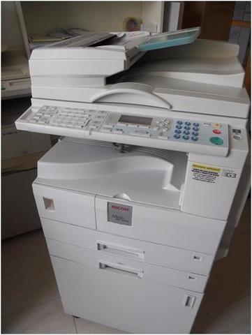 Fotocopiadora Ricoh Mp2000 + Guillotina+ Plastificadora
