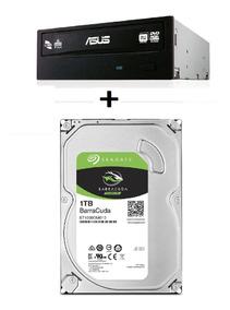 Hd Seagate 1tb 7200rpm 3.5 Gravador Dvd Asus Sata Nfe