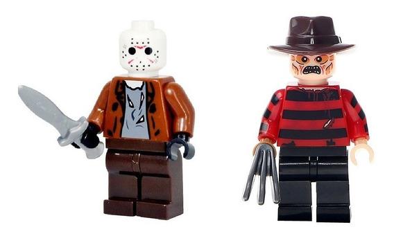 Blocos De Montar Jason E Freddy Krueger Terror
