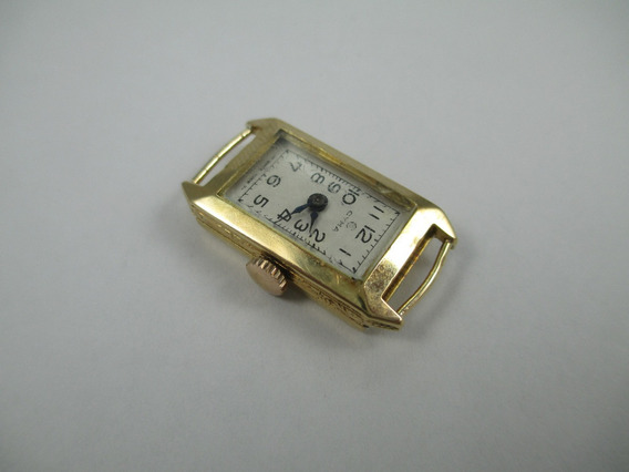 Antigo Relógio Suíço Cyma - Caixa Em Ouro 18k