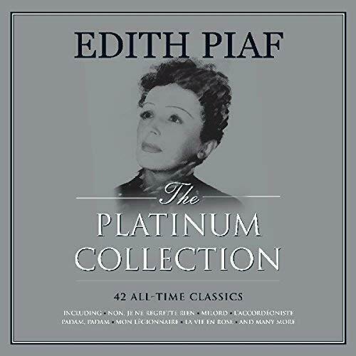 Lp Edith Piaf The Platinum Collection 3lps Leia Descrição