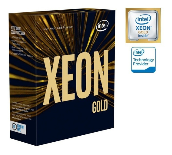 Processador Xeon Escalavel Lga 3647 Intel 5120 Gold 14 Cores 2.2ghz 19,25mb 10,4gt/s S/cooler -
