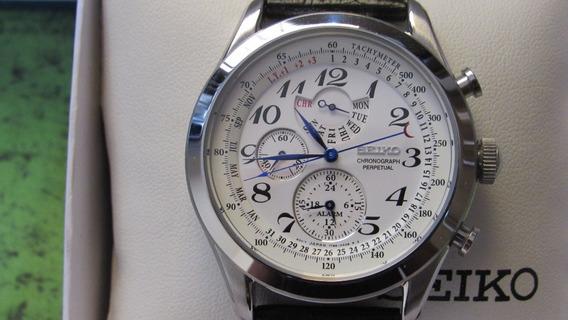 Relógio Seiko Neo Classic Calendario Perpetuo Spc131