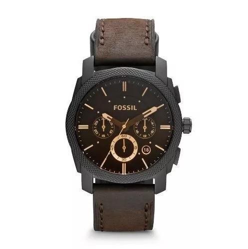 Relógio Fossil Masculino Marrom Ffs4656/z Sem Juros E Nf-e