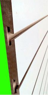 Panel Ranurado Rapiwall Mdf 18mm 2,60x0,90 - Blanco