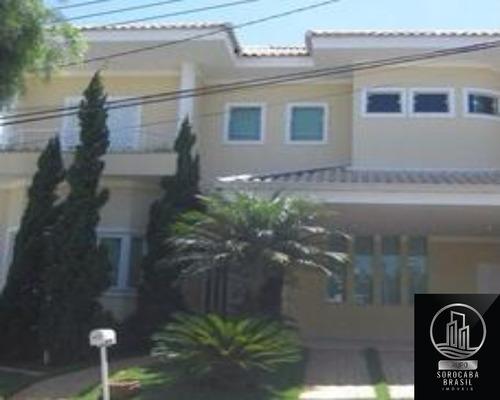 Sobrado Com 3 Dormitórios À Venda, 327 M² Por R$ 1.150.000 - Condomínio Lago Da Boa Vista - Sorocaba/sp - Ca00085 - 67802843