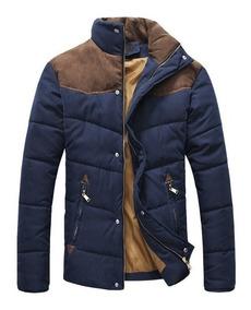 Jaqueta Masculina Blusa De Frio Moletom Slim Casaco Moda