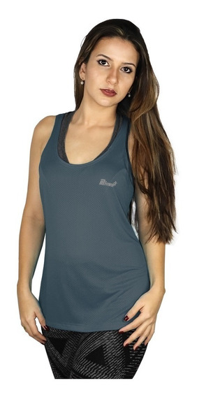 Kit 3 Regata Academia Feminina Crossfit Camisetas Furadinha