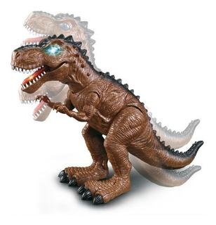 Boneco Dinossauro Tiranossauro Rex Com Luz E Som