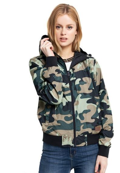 Campera Mujer Lotus Rever Camo Jacket