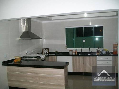 Imagem 1 de 25 de Sobrado Com 3 Dormitórios À Venda, 200 M² Por R$ 800.000,00 - Condomínio Ibiti Royal Park - Sorocaba/sp - So0007