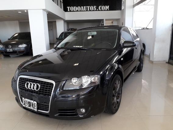 Audi A3 1.6 Nafta 3 Ptas Año 2006 Color Negro